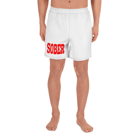 Men's Athletic Long Shorts- Sober