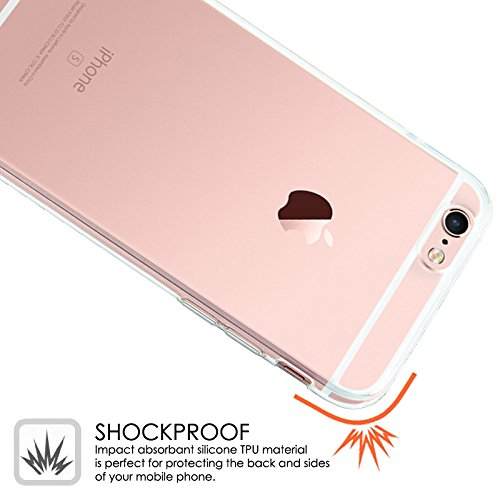 Apple iPhone 6/6S Transparent Soft Silicon Gel Cover