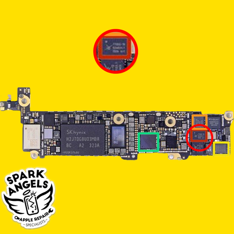 Image of iPhone 5S and 5C Touch IC