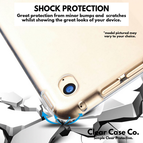 Image of iPad 5th Gen & Air 1 Transparent Soft Silicon Gel Cover