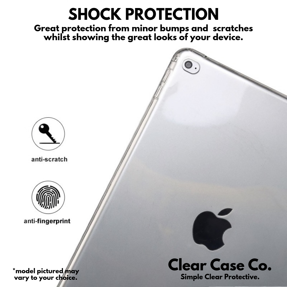 iPad Pro 10.5/Air 3 Transparent Soft Silicon Gel Cover