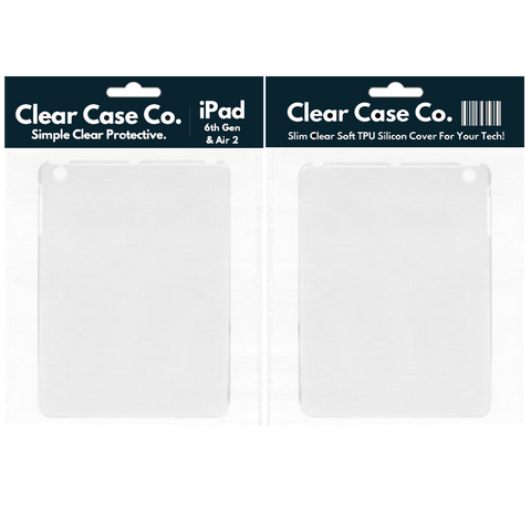 Image of iPad 6th Gen & Air 2 Transparent Soft Silicon Gel Cover