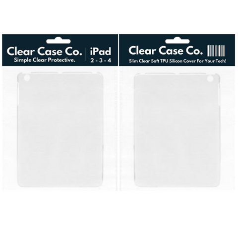 Image of iPad 2, 3 & 4 Transparent Soft Silicon Gel Cover