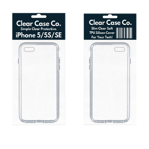 iPhone 5/5S/SE Transparent Soft Silicon Gel Cover