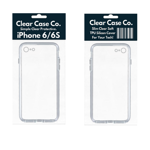 Image of iPhone 6/6S Transparent Soft Silicon Gel Cover