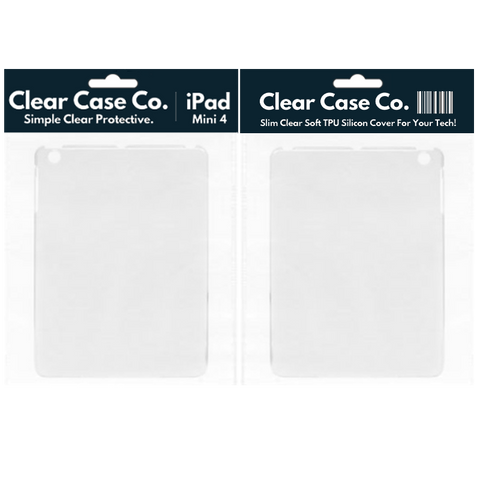 iPad Mini 4 Transparent Soft Silicon Gel Cover