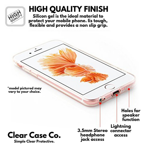Image of iPhone 5/5S/SE Transparent Soft Silicon Gel Cover