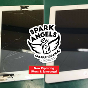 Image of iPad 5th Gen Glass Screen Digitiser and LCD Replacement
