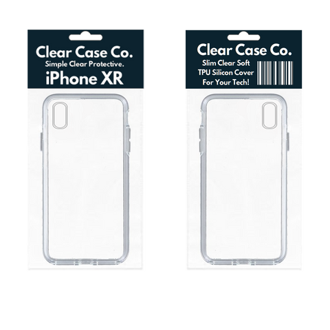 Image of iPhone XR Transparent Soft Silicon Gel Cover