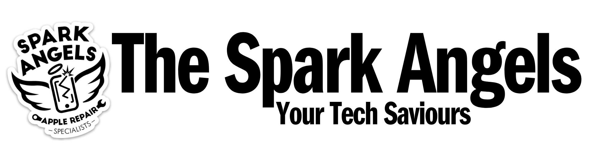 The Spark Angels Repair Service Logo