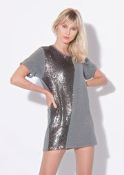 Maxi T-shirt Illusion Grey