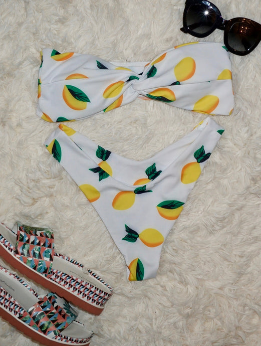 Lemonade Twist Bikini