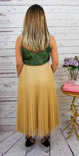 Load image into Gallery viewer, Goldie Shimmer Skirt