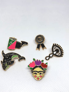 Frida Enamel Pins Set