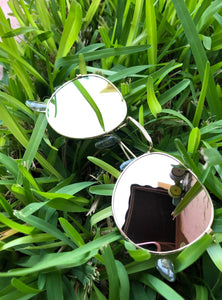 Round Flash Sunglasses