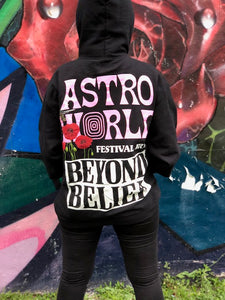 Astroworld  Festival Run Beyond Belief Hoodie