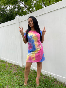 Shirt Dress - Tie Dye