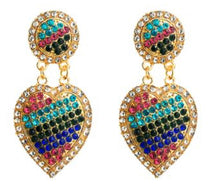 Load image into Gallery viewer, Heart and Soul Earrings