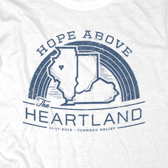 Hope Above the Heartland - White