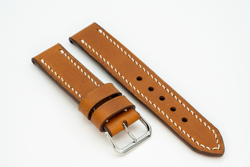 Custom Full Grain Leather Straps