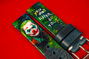 Hand-Painted Joker Strap