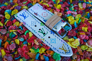 Multicolor LV Canvas Straps Pre-order