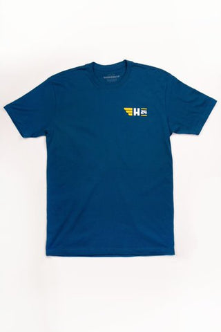 Men's Cloudy T-Shirt in Cool Blue