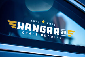 Hangar 24 9'' Car Window Decal