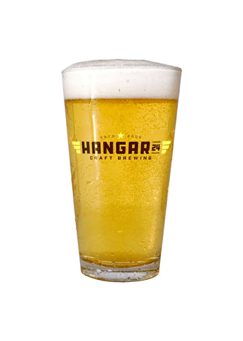 Hangar 24 Brand - 16oz Pint Glass