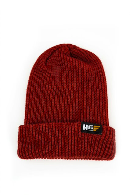H24 Embroidered Beanie in Rust (New!)