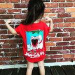Kids T Shirt - Gildan - Red GA/FL