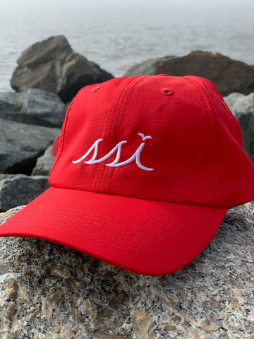 Hat - Imperial (Regular Size) - Red hat / White logo