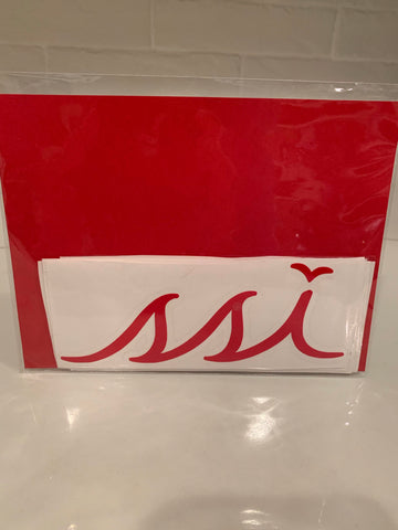 Sticker - Large Red logo (6 Inches)