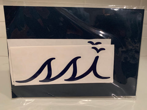 Sticker - Large Navy logo (6 Inches)
