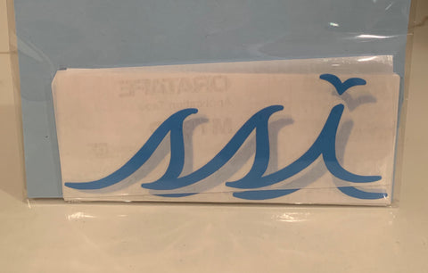 Sticker - Large Light Blue logo (6 Inches)