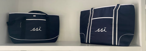 Ex-large Navy Cooler Tote