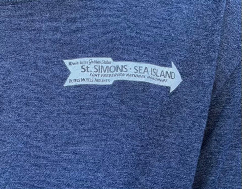 St Simons old road sign T shirt