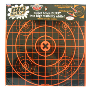 "Birchwood Casey Big Burst Targets 12"" Sight In"
