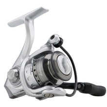 "Load image into Gallery viewer, Abu Garcia Silver Max Spinning Reel 40, 5.1:1 Gear Ratio, 6 Bearings, 29"" Retrieve Rate, Ambidextrous, Boxed"