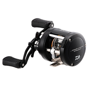 "Daiwa Millionaire Classic UTD Casting Reel 5.1:1 Gear Ratio, 24.50"" Retrieve Rate, 9 lb Max Drag, H/MH Action, Right Hand"
