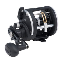 "Load image into Gallery viewer, Penn Rival Level Wind Conventional Reel 30, 3.9:1 Gear Ratio, 2 Bearings, 27"" Retrieve Rate, Right Hand, Clam Package"