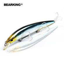Load image into Gallery viewer, Retail Bearking professional fishing tackle ,Only for promotion  fishing lures,Bear king 128mm 14.8g,Minnow bait. hot model,