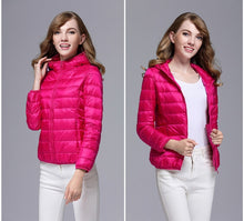 Load image into Gallery viewer, 2017 Winter New Women's Down Coats Warm and Warm Ladies Jackets & Coat Slim Warm and Comfortable High Quality Multi-color S M L