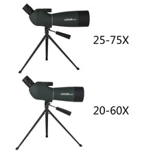Load image into Gallery viewer, Monocular Telescope High Clarity Large Aperture Observation Waterproof Green Film Telescope HD Outdoor Spotting Zoom Scope