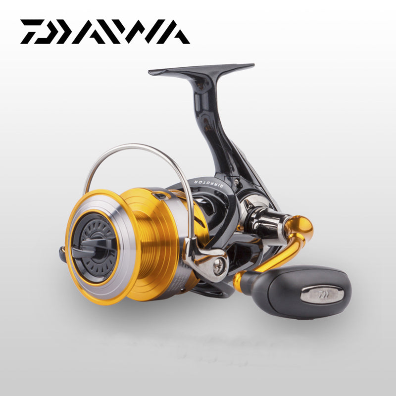 DAIWA Original Daiwa Spinning Fishing Reel REVROS A series 5 Ball Bearing Saltwater Freshwater Carp Feeder Wheel with Air Rotor