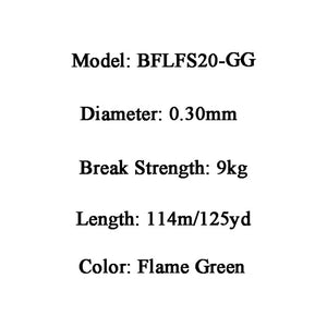 BERKLEY FireLine 125yd/114m 4-30LB Flame Green Braid Carp Fishing Lines Super Strong Smooth Thin Monos Pesca Peche Accessories