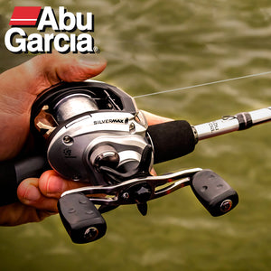 NEW 2018 Abu Garcia Brand Silver Max SMAX3 Right Left Hand Bait Casting Fishing Reel 6BB 6.4:1 207g MaxDrag 8kg Baitcasting Reel