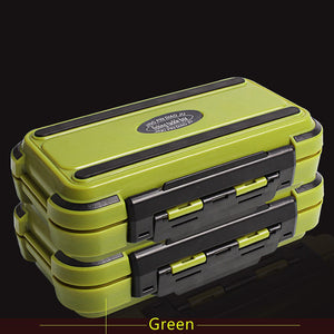 Fishing Tackle Box Compartments 4Color Fish Lure Line Hook Fishing Tackle Fishing Accessories Box P0