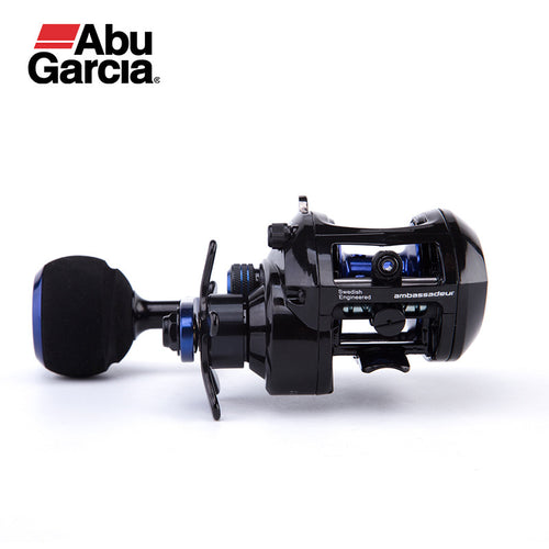Abu Garcia SALTY MAX PLUS Baitcasting Reel Low Profile 2+1BB Fishing Reel 6.2:1 Baitcasting Fishing Reel Magnetic Brake