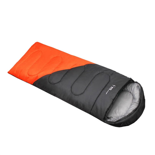 Sleeping Bag Envelope Camping Sleeping Bags Blankets for Hiking Outdoors Activity (Orange)